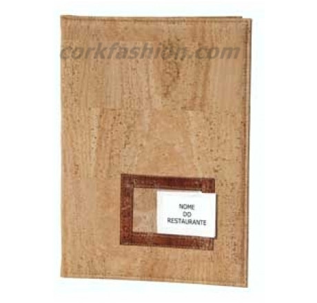Restaurant menu cover (model RC-GL0801007001) from the manufacturer Robcork in category Corkfashion